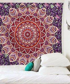 Wandbehang Indisches Mandala Absolute Pracht