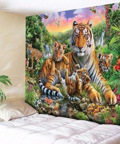 Tiger Wandbehang
